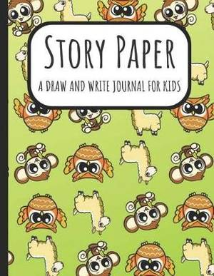 Story Paper: A Draw and Write Journal for Kids: A Large Sketchbook with  Dotted Lined Paper and a Blank Section for Drawing, Doodling and Sketching: