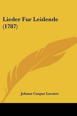 Lieder Fur Leidende (1787)