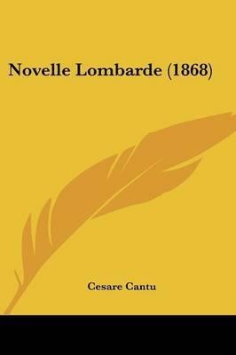 Novelle Lombarde (1868)