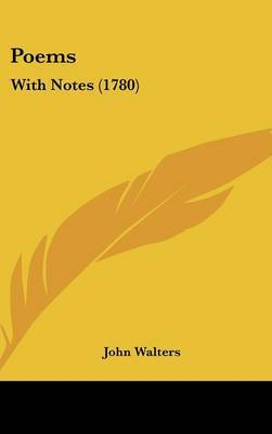 Poems: With Notes (1780)