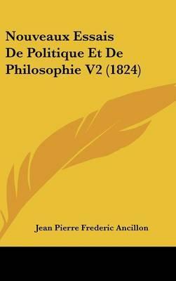 Nouveaux Essais De Politique Et De Philosophie V2 (1824)