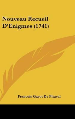 Nouveau Recueil D'Enigmes (1741)