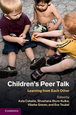 Children's Peer Talk: Learning from Each Other