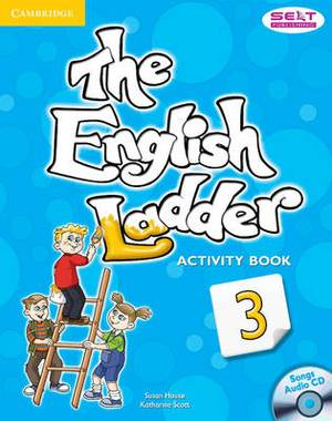 The English Ladder Level 3 Activity Book with Songs Audio CD