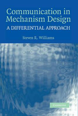 Communication in Mechanism Design: A Differential Approach