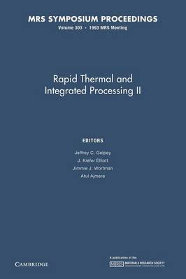 Rapid Thermal and Integrated Processing II: Volume 303