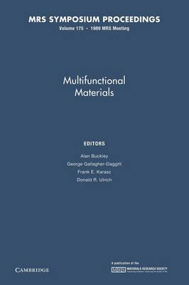 Multifunctional Materials: Volume 175