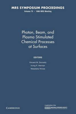 Photon, Beam, and Plasma Stimulated Chemical Processes at Surfaces: Volume 75