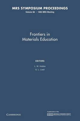 Frontiers in Materials Education: Volume 66