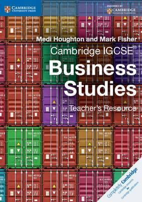 Cambridge IGCSE Business Studies Teacher's Resource CD-ROM