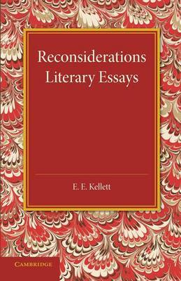 Reconsiderations: Literary Essays