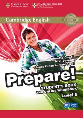 Cambridge English Prepare! Level 5 Student's Book and Online Workbook: Level 5