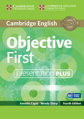 Objective First Presentation Plus DVD-ROM