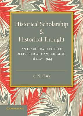 Historical Scholarship and Historical Thought