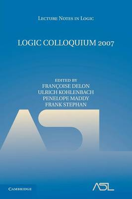 Logic Colloquium 2007