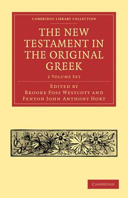 The New Testament in the Original Greek 2 Volume Paperback Set