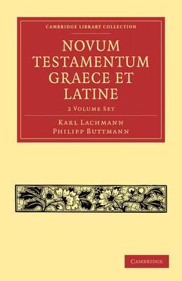 Novum Testamentum Graece et Latine