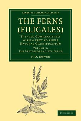 Ferns (Filicales): Volume 3, the Leptosporangiate Ferns: Treated Comparatively with a View to Their Natural Classification