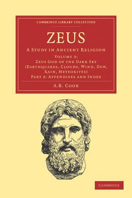 Zeus 3 Volume Set in 8 Pieces: A Study in Ancient Religion