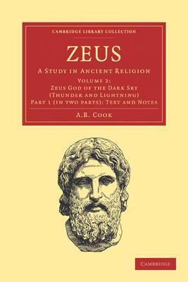 Zeus 2 Part Set: A Study in Ancient Religion