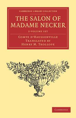 The Salon of Madame Necker 2 Volume Set