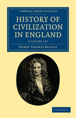 History of Civilization in England 2 Volume Set