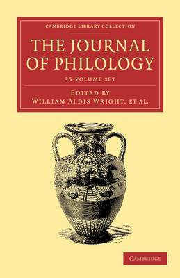 The Journal of Philology 35 Volume Set