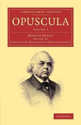Opuscula: Volume 2