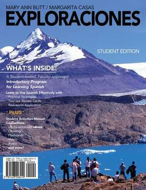Student Activities Manual and CourseMate for Blitt/Casas' Exploraciones