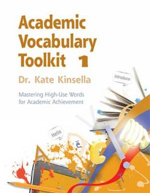 Academic Vocabulary Toolkit 1 Student Text