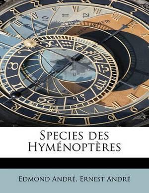 Species Des Hymenopteres