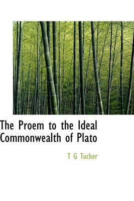 The Proem to the Ideal Commonwealth of Plato
