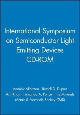 International Symposium on Semiconductor Light Emitting Devices