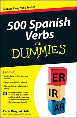 500 Spanish Verbs For Dummies: with CD