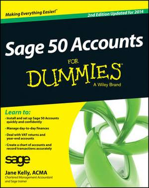 Sage 50 Accounts For Dummies: 2014