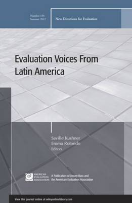 Evaluation Voices from Latin America: New Directions for Evaluation