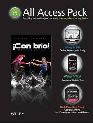 All-access Pack to Accompany Con Brio: Beginning Spanish, Third Edition