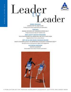 Leader to Leader (LTL): Spring 2014