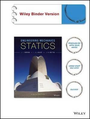 Engineering Mechanics - Statics 8e Binder Ready Version with Wileyplus Blackboard Card Set