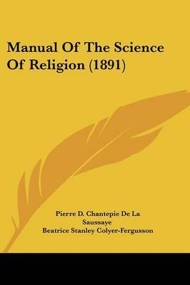 Manual of the Science of Religion (1891)