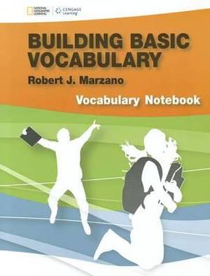 Marzano Basic Vocabulary Log