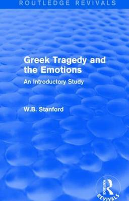 Greek Tragedy and the Emotions: An Introductory Study