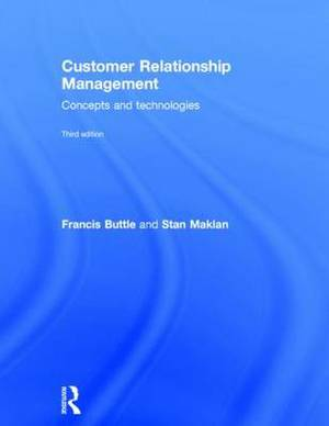Customer Relationship Management: Concepts and Technologies