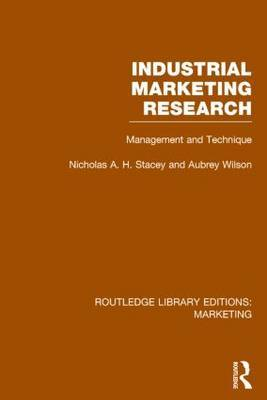 Industrial Marketing Research: Management and Technique
