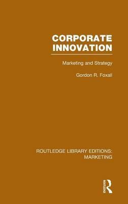Corporate Innovation (RLE Marketing): Marketing and Strategy