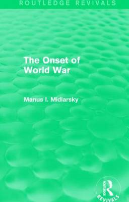 The Onset of World War