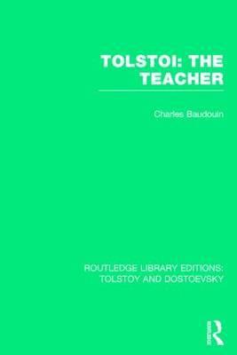 Tolstoi: The Teacher