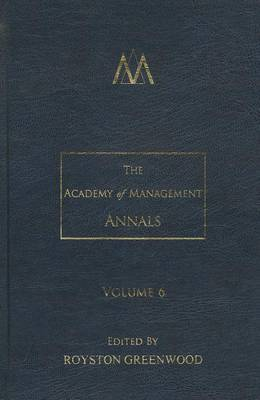 The Academy of Management Annals