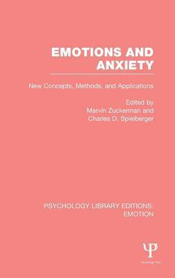 Emotions and Anxiety: New Concepts, Methods, and Applications