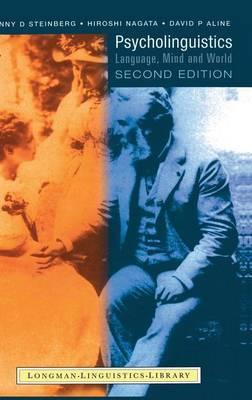 Psycholinguistics: Language, Mind and World